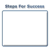Steps For Success